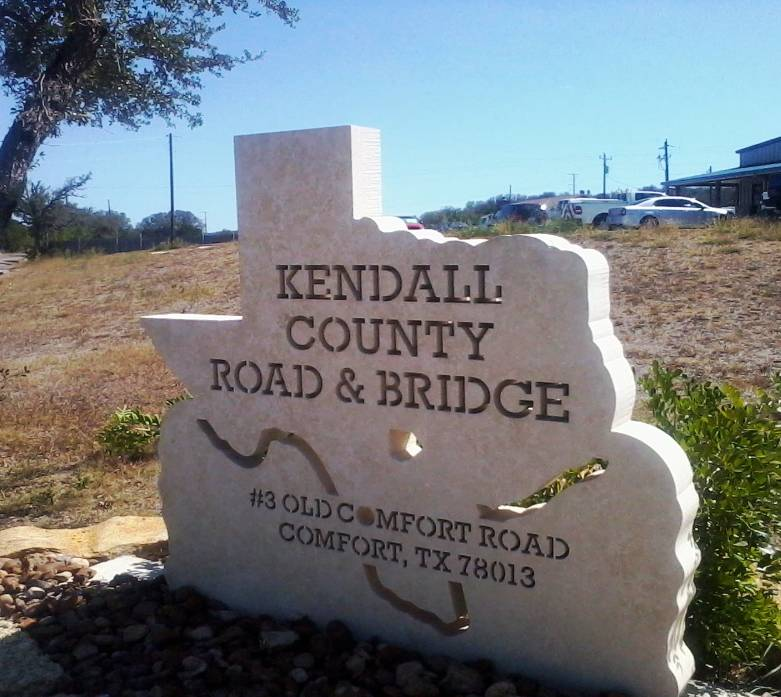 Kendall County Road and Bridge Monument